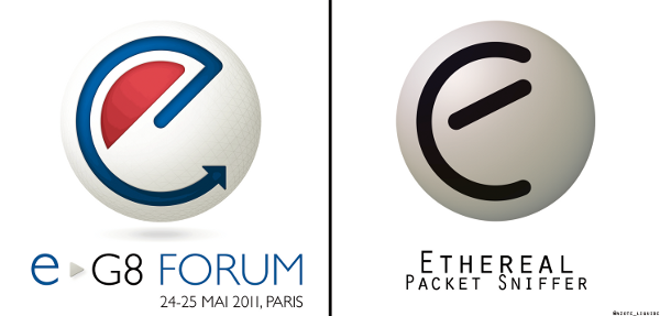 comparison of eG8 and Ethereal logos