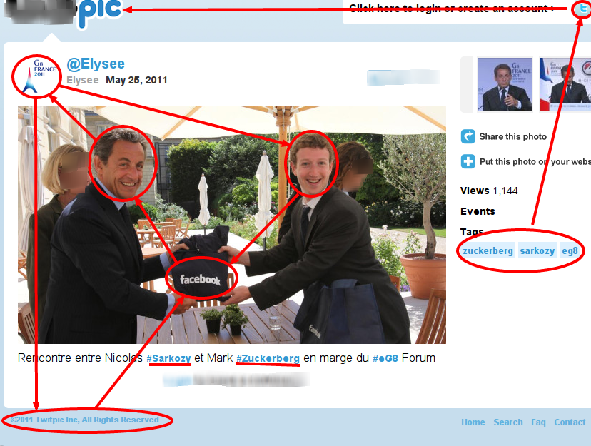 #Sarkozy and #Zuckerberg